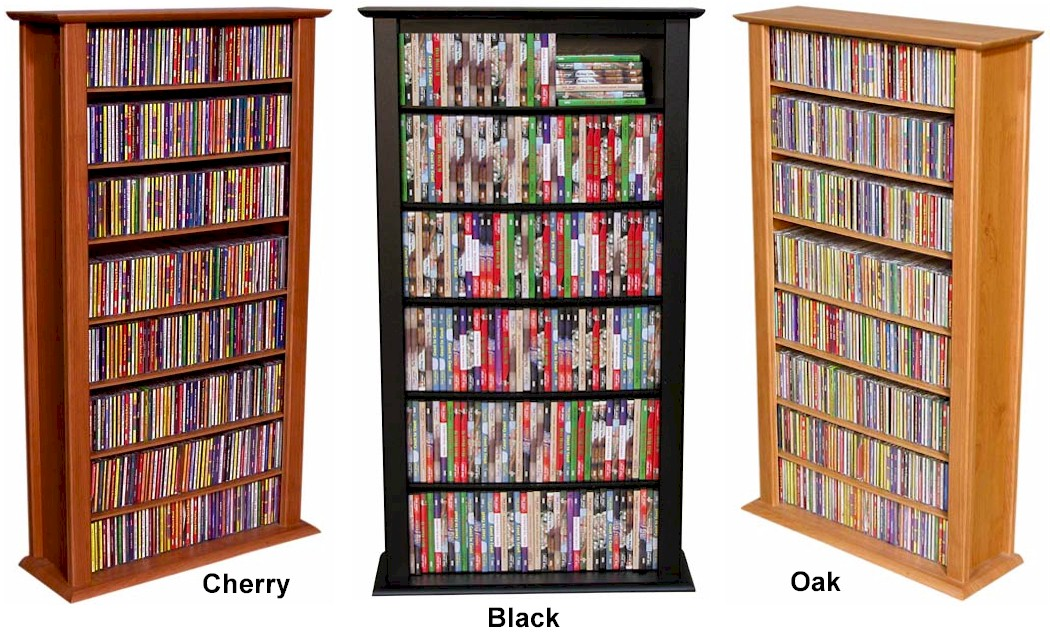 464 Cd 234 Dvd Tower Dvd Cd Storage Rack Shelf 5 Colors Ebay