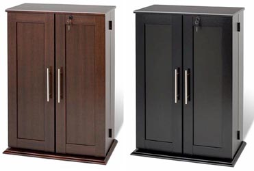cabinets with doors cd dvd storage cabinet w lock 376 cd 192 dvd new ebay 13177