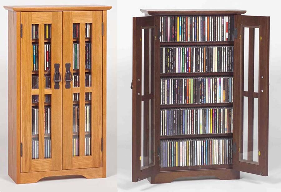 Cd Cabinet With Doors