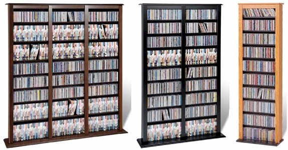 & Large 1173 CD 567 DVD Barrister Storage Wall Rack - NEW | eBay