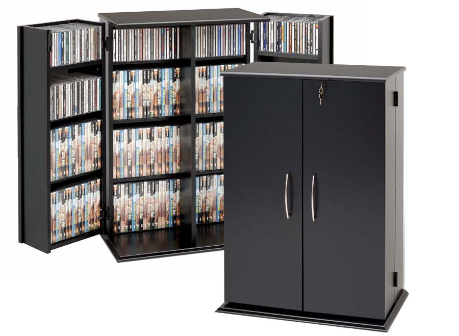 Terrific Details About Prepac Cd Dvd Storage Cabinet W Lock 376 Cd 192 Dvd New Home Interior And Landscaping Elinuenasavecom