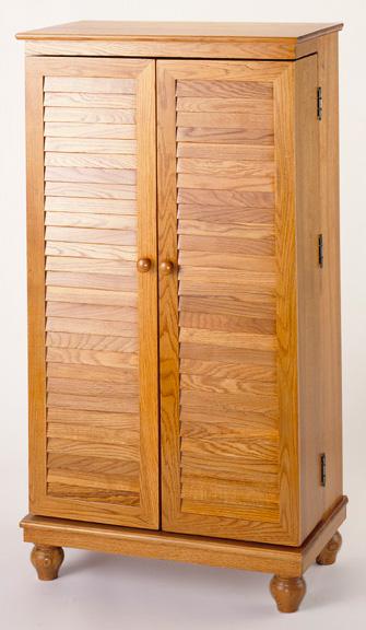 Details About Hardwood Cd Dvd Blu Ray Storage Cabinet 612 298 Oak New